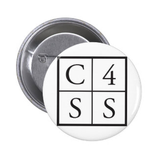 C4SS squared 2 Inch Round Button