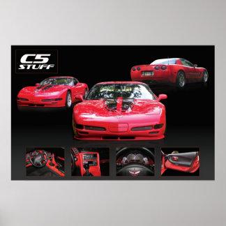 C5 corvette poster