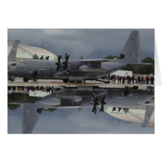 C-130 at Hill Air Force Base 2012 card