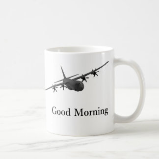 C-130 Hercules Good Morning mug