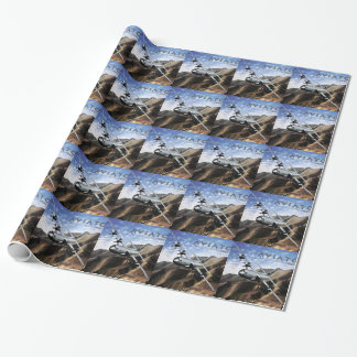 C-130 HERCULES Military Airplane Wrapping Paper