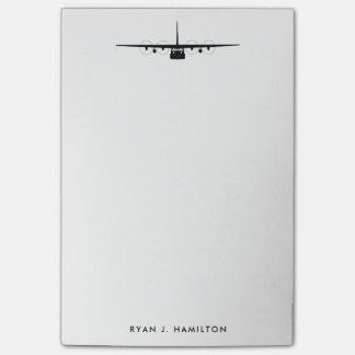 C-130 Hercules Personalize Post-It Note Pad