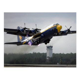 "C-130T Hercules - ""Fat Albert"" Blue Angels Postcar Postcard"