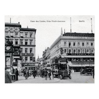c 1905 Berlin, Unter Den Linden, Friedrichstrasse Postcard