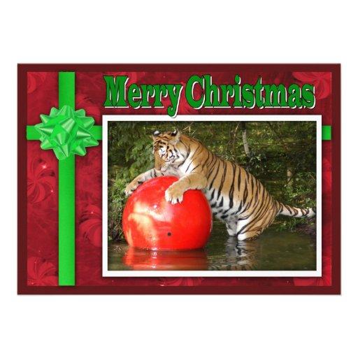 c-2011-tiger-006 invitations personnalisées