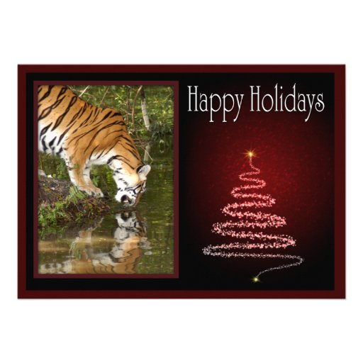 c-2011-tiger-009 invitations personnalisées