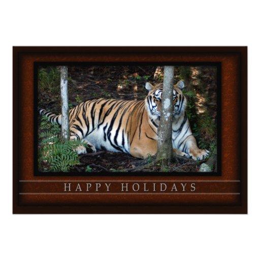 c-2011-tiger-013 cartons d'invitation
