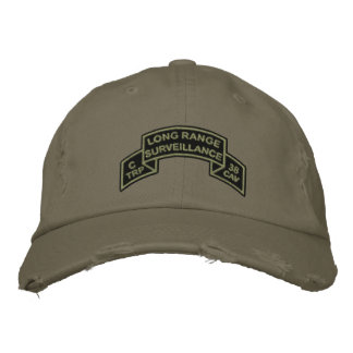 C 38 (LRS) Hat w/ subdued scroll Embroidered Hats