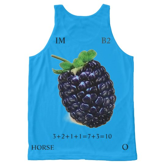 C.C. COLOR RATIO 8-10 All-Over-Print TANK TOP