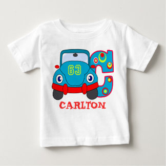 C CAR, name initial Baby T-Shirt
