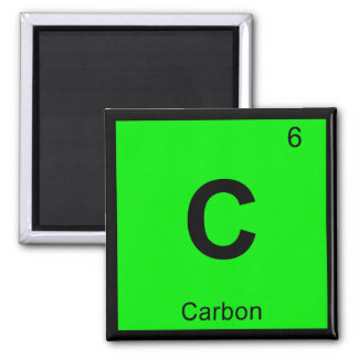 C - Carbon Chemistry Periodic Table Symbol Magnet