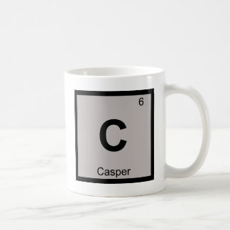 C - Casper Wyoming Chemistry Periodic Table Symbol Coffee Mug