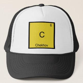 C- Chekhov Funny Chemistry Element Symbol T-Shirt Trucker Hat