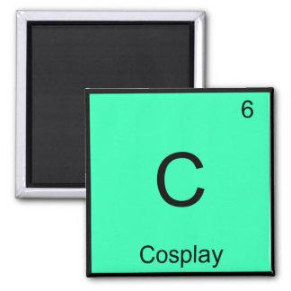 C - Cosplay Chemistry Element Symbol Costume Tee Square Magnet