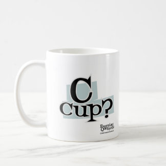 C-Cup, Everyday Questions Classic White Coffee Mug