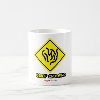 C. Diff Crossing Sign Coffee Mug
