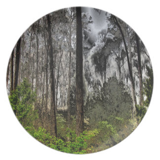 C.E. Grunge Forest Plate