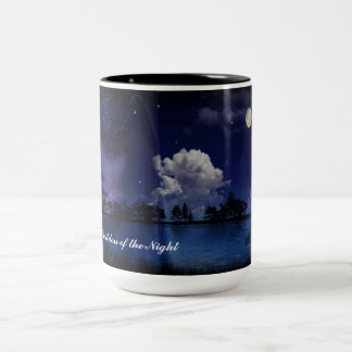 C.E. Nyx Goddess of the Night Fantasy Art Mug