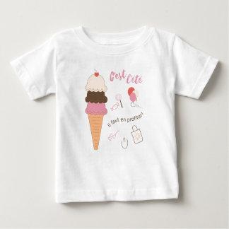 C'est l'été, il faut en profiter baby T-Shirt