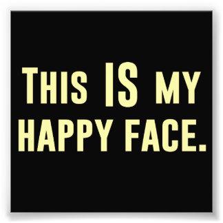 C EST mon visage heureux