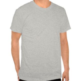 C H A O S Crest Distressed Mens Blue T-shirt