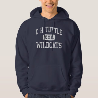 C H Tuttle Wildcats Middle Maiden Hoodie