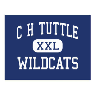 C H Tuttle Wildcats Middle Maiden Postcard