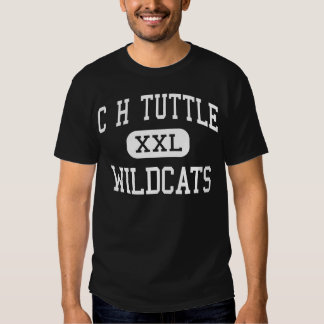 C H Tuttle Wildcats Middle Maiden T Shirts