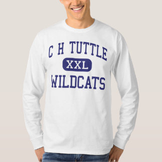 C H Tuttle Wildcats Middle Maiden Tees