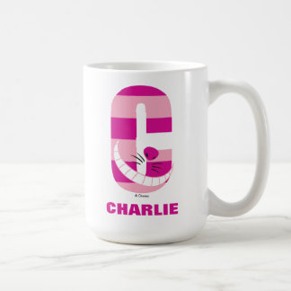 C is for Cheshire Cat | Add Your Name Coffee Mug
