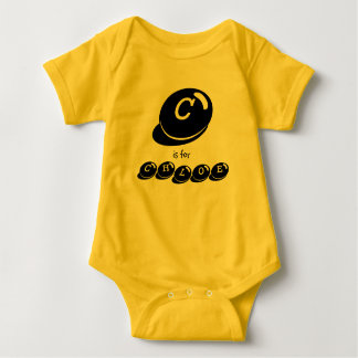 C is for CHLOE monogram Baby Bodysuit