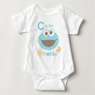 C is for Cookie Baby Baby Bodysuit