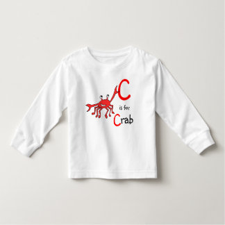 C is for Crab T shirt