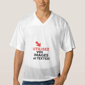 C-it-yourself-frenchImprimer your designs in L Men's Football Jersey