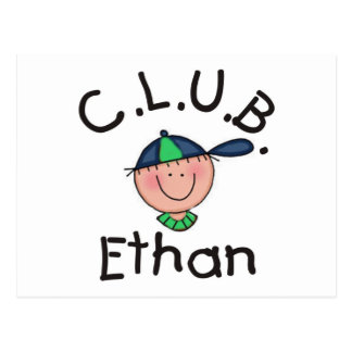 C.L.U.B. Ethan Post Card