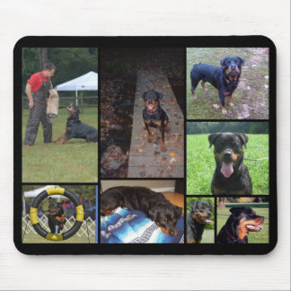 C Litter Collage Mouse Pad