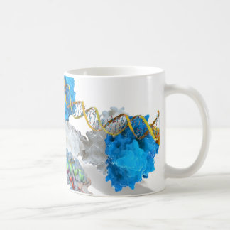 c-Myc and Notch binding DNA Coffee Mug