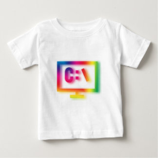 C:\ Nerds and Geeks Rejoice ! Baby T-Shirt