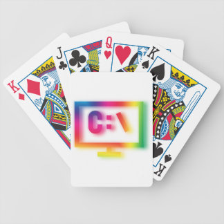 C:\ Nerds and Geeks Rejoice ! Bicycle Playing Cards