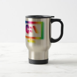 C:\ Nerds and Geeks Rejoice ! Travel Mug