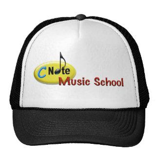 c note music school hat