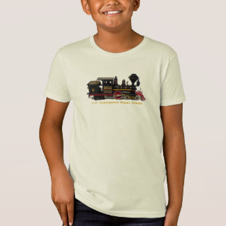 C.P. Huntington Model Engine-kids t-shirt