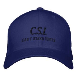 C.S.I. Hat