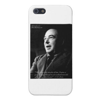 C.S. Lewis Love/Enchantments Love Quote Gifts Case For iPhone 5/5S
