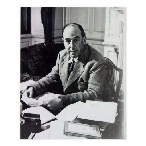 C.S. Lewis Poster