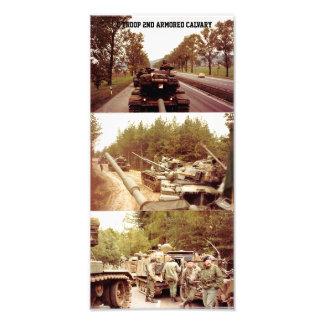C Troop 2nd Armored Calvary Photo Print