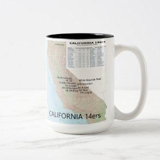 CA 14ers mug - Style 1