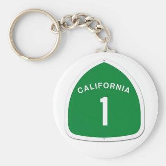 CA 1 Keychain