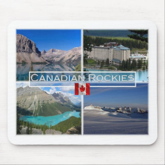 CA Canada - Bow Lake - Banff National Park - Mouse Pad