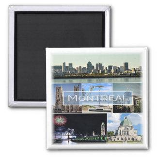 CA * Canada - Montreal Magnet